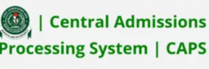 JAMB CAPS Central Admission Processing System Portal
