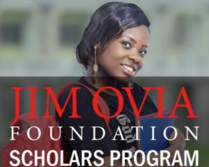 2019 Jim Ovia Scholarship