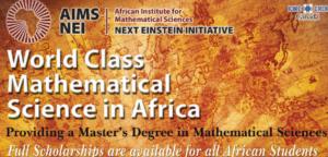 2019 AIMS Master's & Co-operative Master's Program