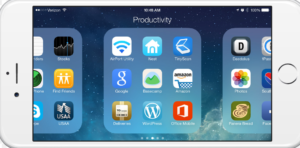 Ways to Make Folders & Join Apps on the iPhone