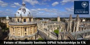 Future of Humanity Institute DPhil 2019 Scholarship