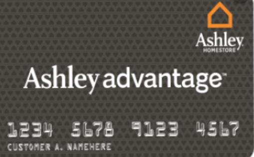 Ashley Advantage Credit Card