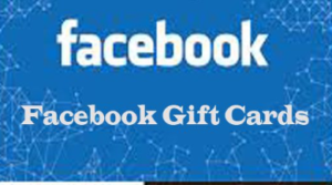 Facebook Gift Cards for ads