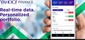 Yahoo Finance Portfolio