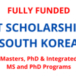 GIST – Gwangju Institute of Science and Technology 2021/2022 Scholarship – Details